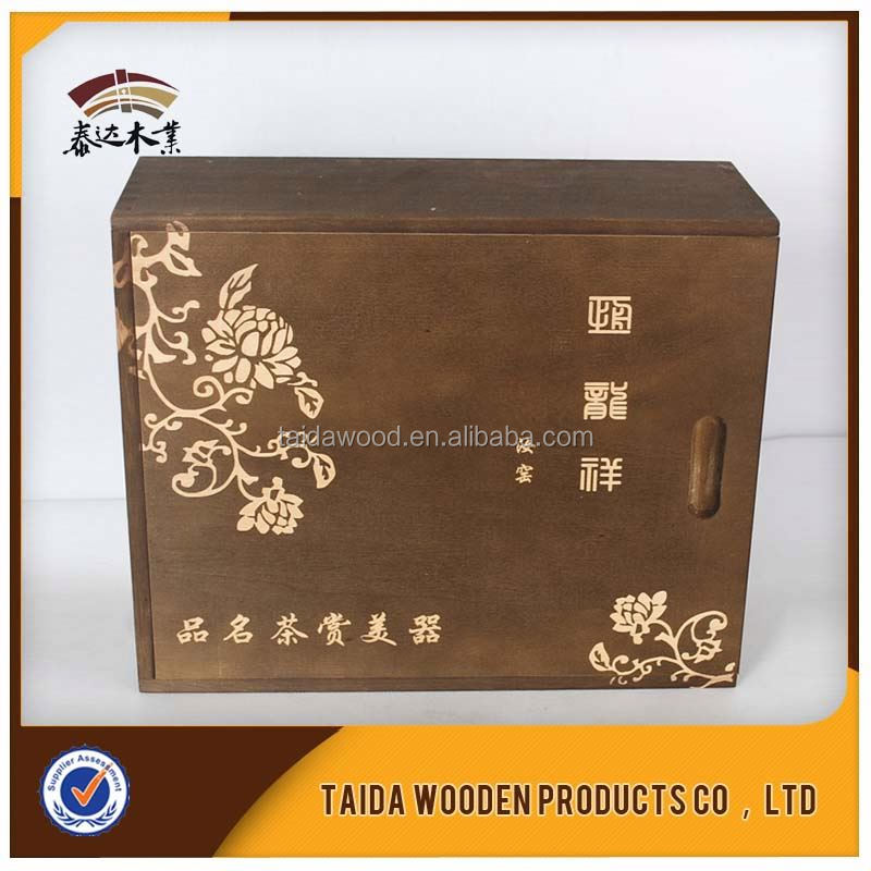 China Supplier Wooden Tea Case