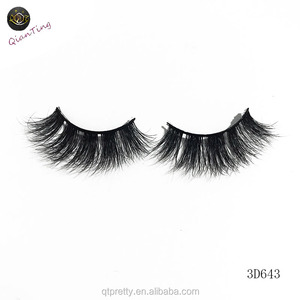False eyelashes manufacturer wholesale 3d mink eyelashes handmade premium mink lashes with individual eyelashes case