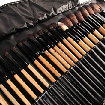 32 Stks Print Logo Make Borstels Professionele Cosmetische Make Up Brush Set De Beste Kwaliteit!