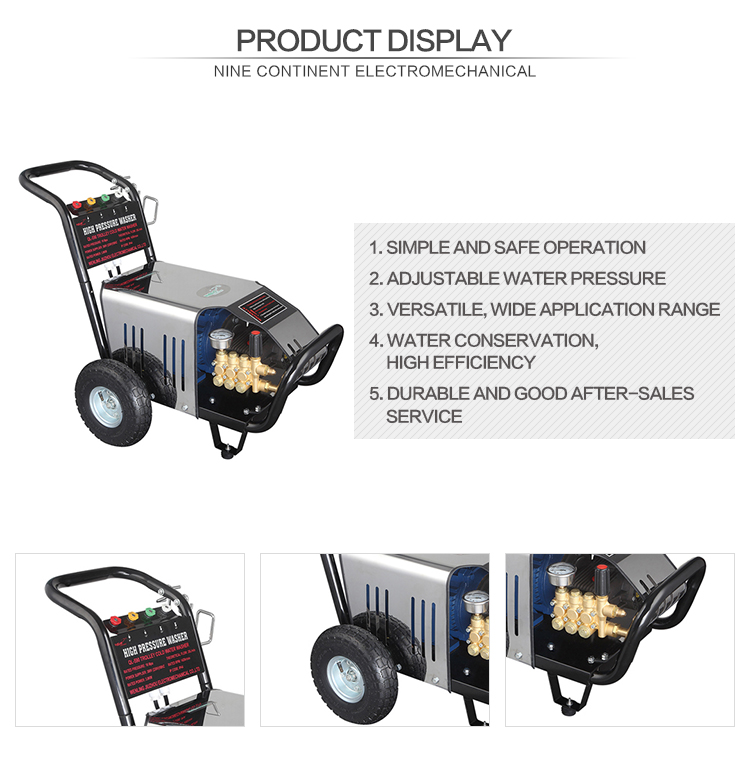 QL-590 High Pressure Cleaner Machine Type and Cleaning ground Use pressure washer