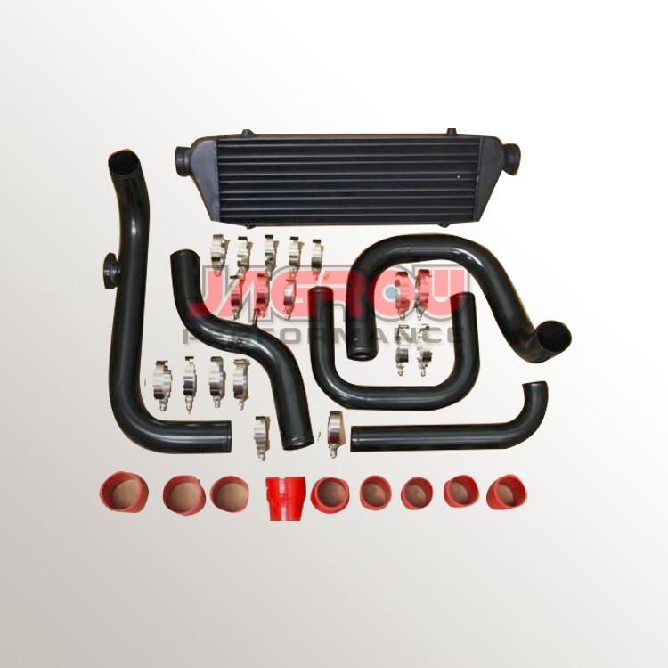 Black Aluminum Blot-on Turbo Intercooler Piping Kit For 92-95 D15 D16 Si -  Buy Intercooler Piping Kit,Turbo Kit For D15,Turbo Intercooler Kit Product