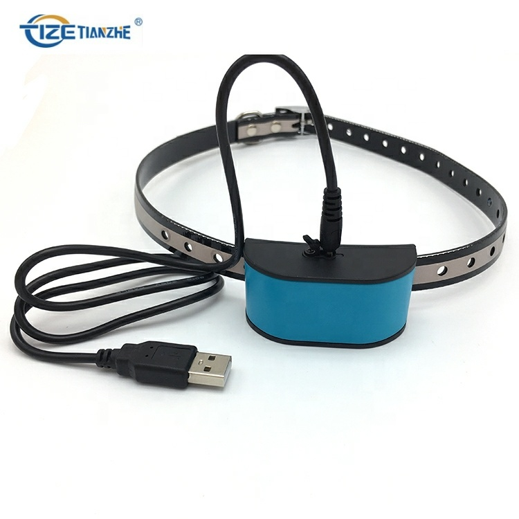 Pet Training Collar DC680V Water Resistance Vibrating Dog Barking Control Collar