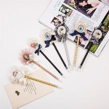 Top sale simple design handmade characters ballpoint pen directly sale