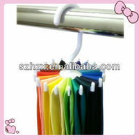 Clothes Shop Use Plastic Prevent Wrinkle Tie Hangers
