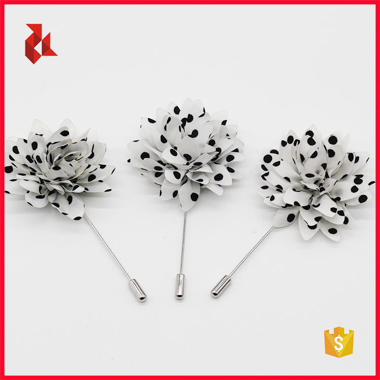 Hot Sale Fashion Mens Flower Lapel Pins Brooches