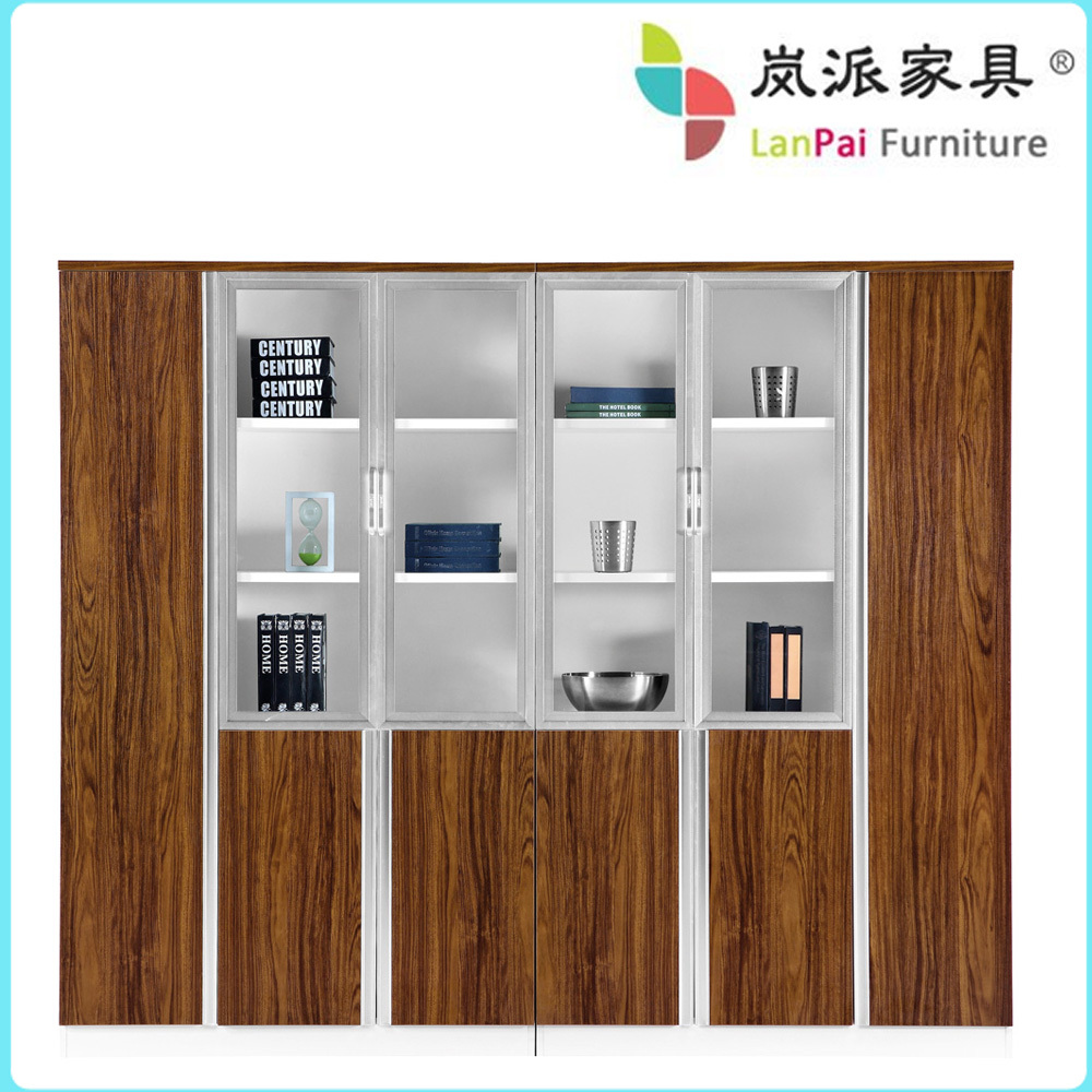 Bookshelf Filing Cabinet Solid Wood Office Cabinet Modular Office Filing Cabinet Bookcase