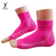 Hot pink ankle brace compression sports plantar fasciitis socks with arch support