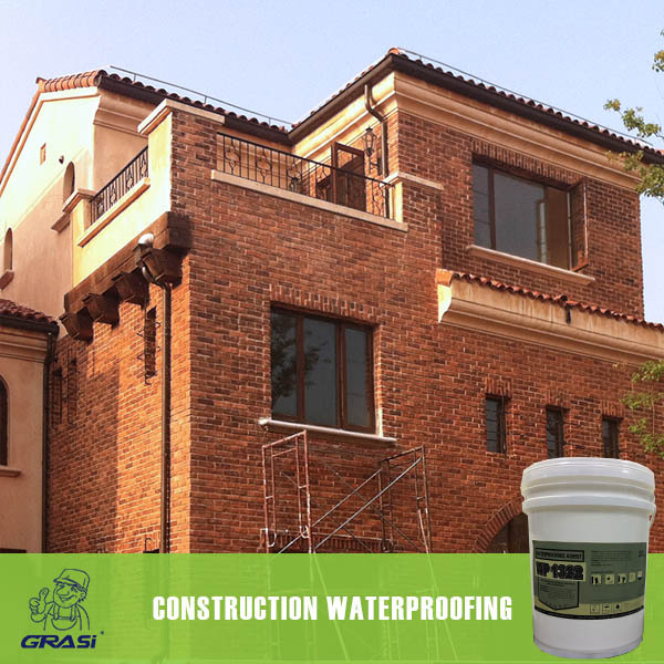 Forms a flexible waterproof coating for brick wall silicon waterproofing agent