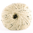 2014 Best selling fancy blended merino alpaca wool yarn with creamy yellow color