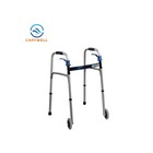 Drive Medical Handicapped Walking Aid Armpit Walker With Wheels