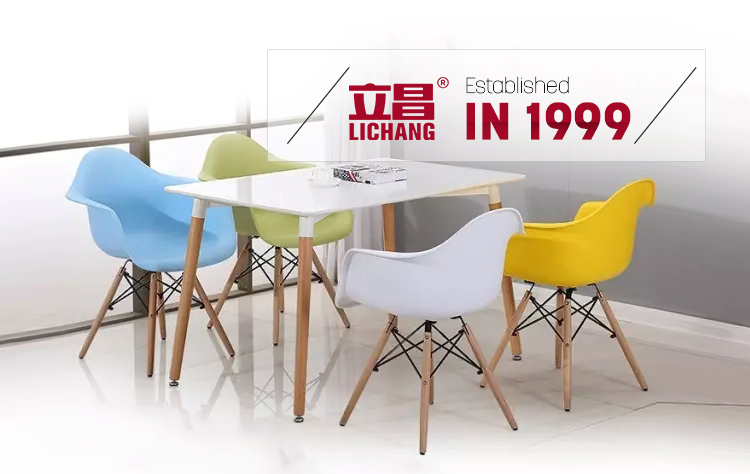Plastic Dining Table Chair XRB-053-D1