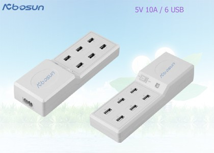 Desktop type high power wireless outdoor usb adapter with 6/8 port with CE GS UL FCC approvals