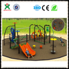 2015 best plastic outdoor children playsets cheap outdoor playsets for kids commercial outdoor playground playsets QX-043A