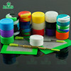 silicone jars dab wax container for hand blown glass smoking pipe with very reasonable price