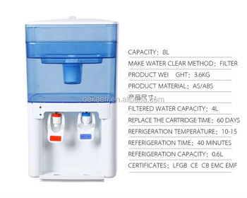 NEW Model Hot And Cold Table Top Water Dispenser With Filter