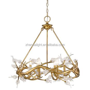 art deco mini rustic modern crystal chandelier