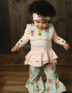 Breathable baby fall winter waearing 2017 children's boutique clothing