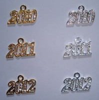 2017 or 2016 graduation charms