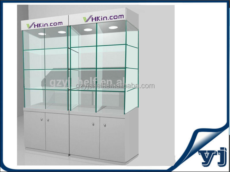 Hot Sell Glass Display Cabinet,High Quality Wooden Showcase,Wall ...