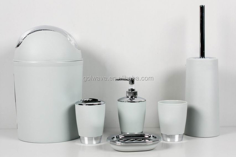 Hotel Bathroom Accessories hotel bathroom accessories set /6-piece set w/big dustbin/new