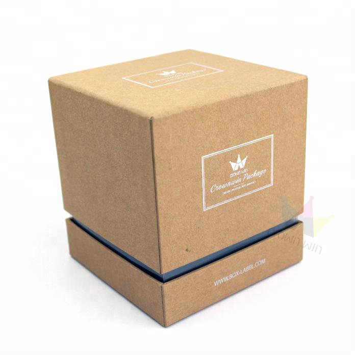 dddbe2139 Proveedor China de encargo al por mayor de lujo Kraft rígido cajas de  embalaje de papel