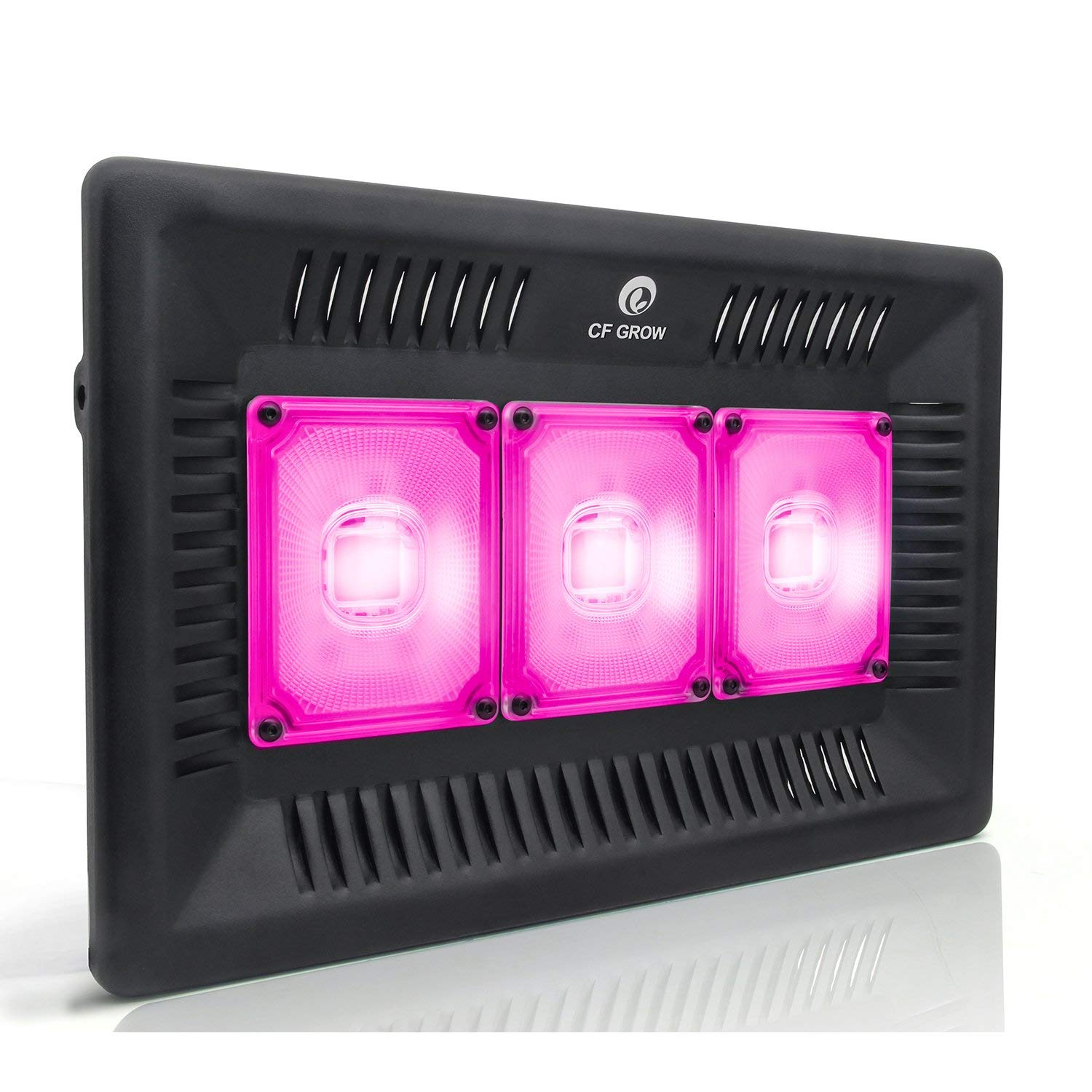 Waterproof 300W Led Grow Light Full Spectrum, New Technology Cob Led Grow Light, Natural Heat Dissipation Without Noise, Suitable For Plants All Growing Stage Indoor and Outdoor