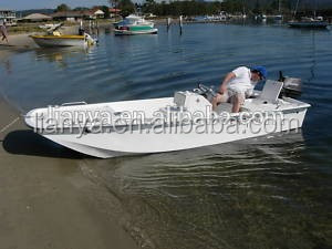 Liya 14ft Boat Fiberglass Work Boats Commercial Fishing Boat With ...