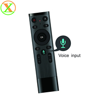 Xlintek Best selling 2.4g wireless fly mouse remote control Q5 mini wireless air mouse for tv box