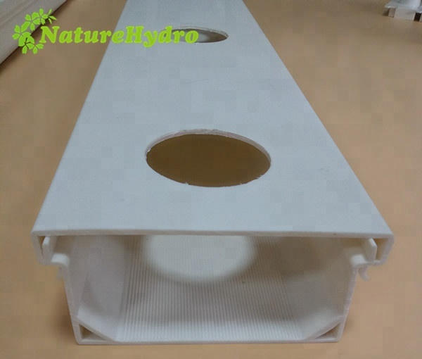 Wholesale PVC 100X50mm plastic square hydroponic <strong>tube</strong>