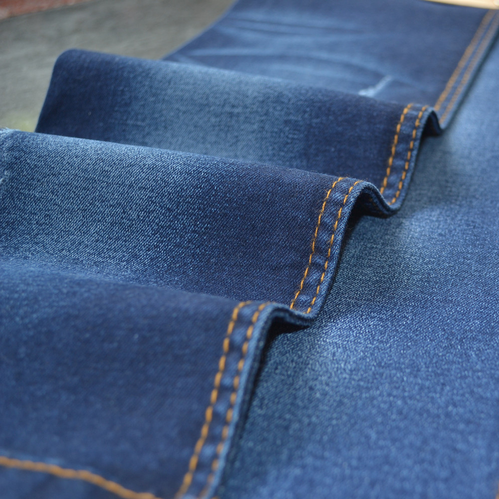 Denim Fabric China Supplier Cotton/polyester Stretch Textile ...