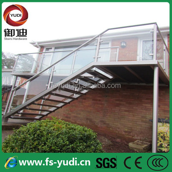 Exterior Stair Design / Outdoor Metal Staircase / Outdoor Staircase Design