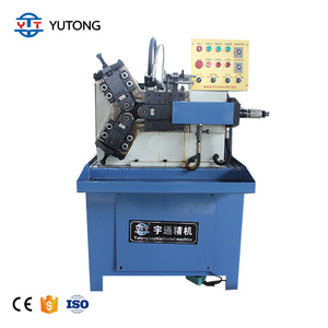 CNC -Three rollers threading rolling machine /system three rollers thread rolling machine