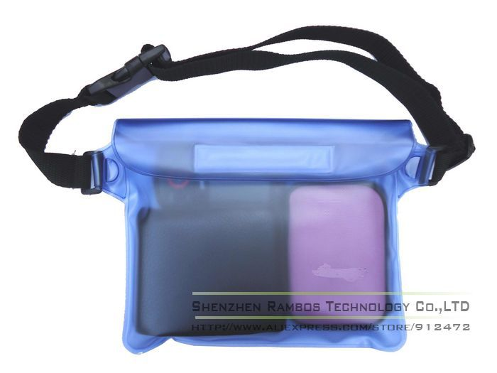 Wholesale Transparent Clear Waterproof Waist Belt Beach Bags for ...
