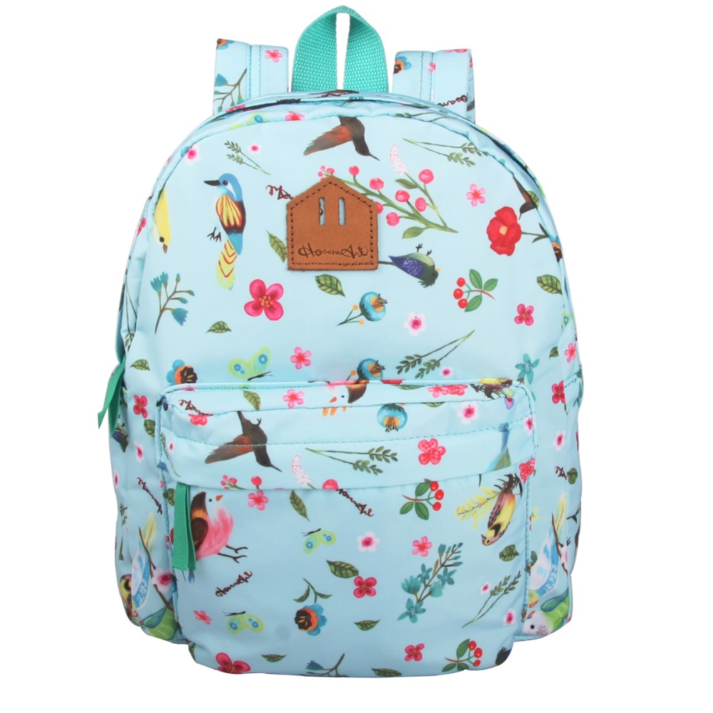 a449036f672d Unique Mini Children Backpack High Quality bird illustration style kids  Schoolbag