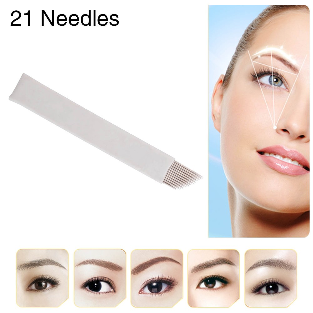 CHUSE D21 Double-Deck Shape Eyebrow Microblade Eyebrows