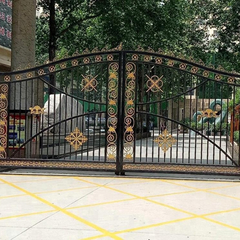 Wrought Iron Gate Steel Gates Grill Design Entrance Antique