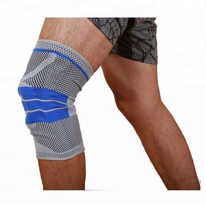 Single Knee Brace/Knee Sleeve/Knee Support for Arthritis, Meniscus Tear, ACL, MCL, Joint Pain Relief HX-02