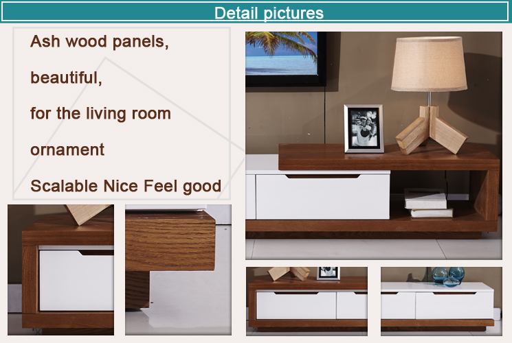 Living Room Furniture Wooden Lcd Led Tv Stand Design