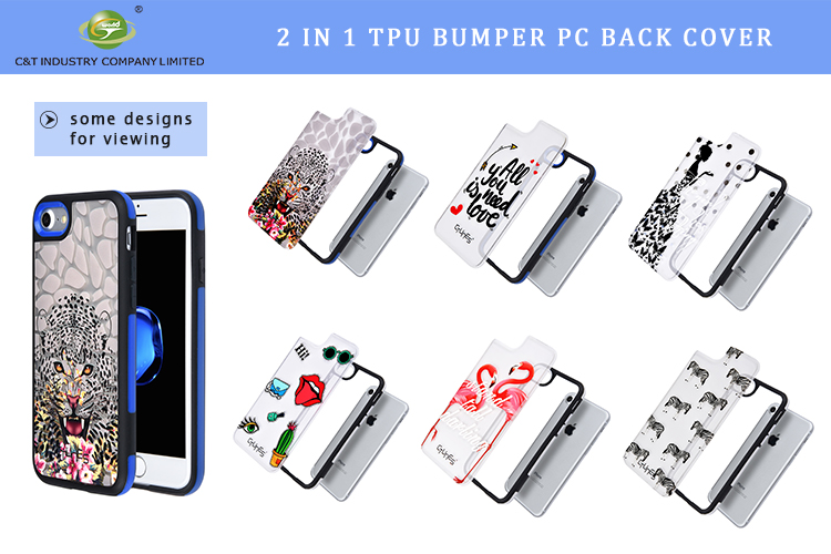 C&T For Iphone Wallet Case Detachable Leather Flip Phone Case Wallet Phone Case for iphone 6s