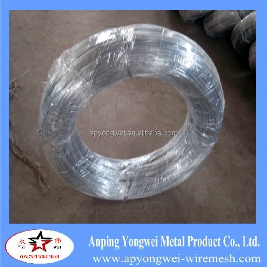 YW-BWG22 Galvanized Iron Wire with Plastic Inside and Woven Outside