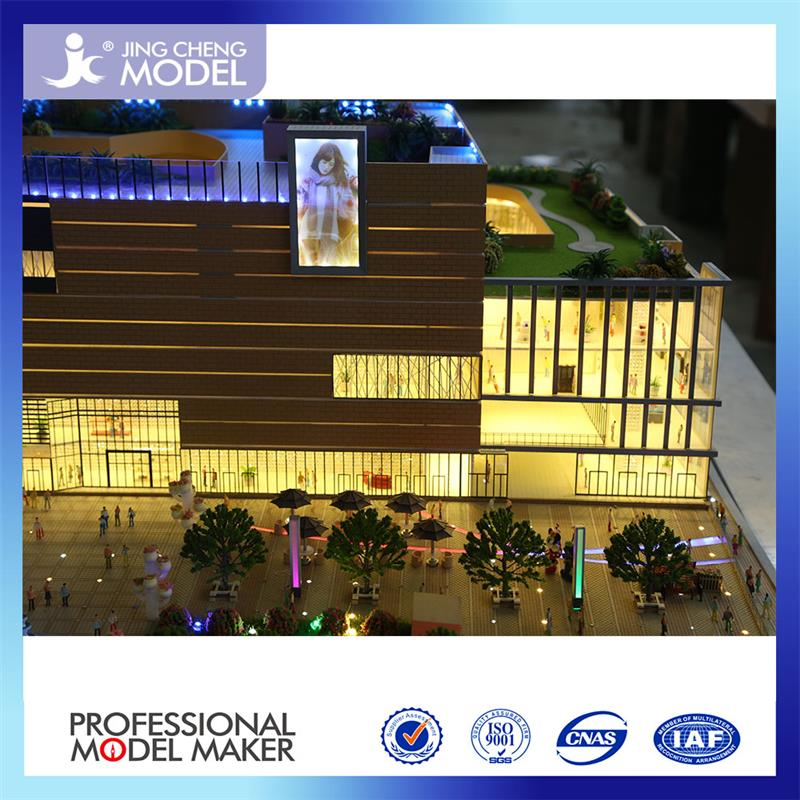 Beautiful construction building scale model buildings for Architecture models for sale