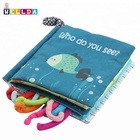 OEM gift kids books & Child Children Cloth Book baby kids educational toy