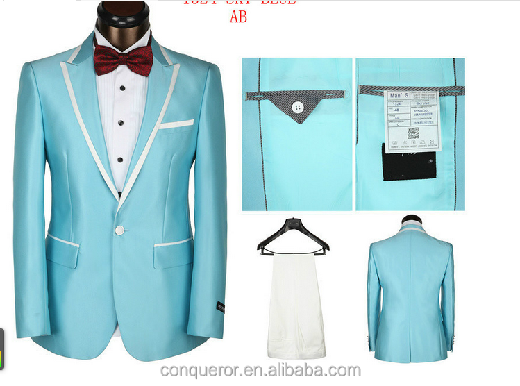 2015 Cheap High Quality Suits Custom Made men business suits wedding suits KR66366made in China