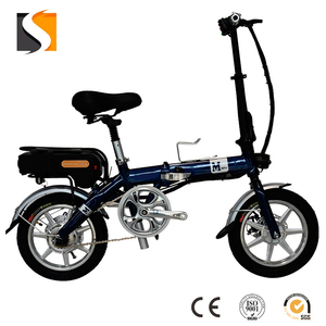 Easy carry electric bicycle with lithium battery, electric folding bike
