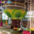 Indoor hand crocheted climbing nets with strong colorful nylon soft play facility