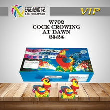 W702 COCK CROWING AT DAWN SAFE HIGH QUALITY OUTDOOR KIDS TOYS CHINESE 1.4G UN0336 LIUYANG GLOBAL FIREWORKS FUEGOS ARTIFICIALES