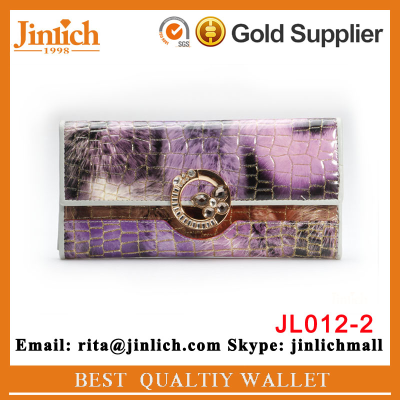 2016 Alibaba China Suppliers Fashion Pu Leather Ladies Wallet ...