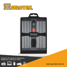 24-In-1 Reversible Ratchet Precision Screwdriver Set