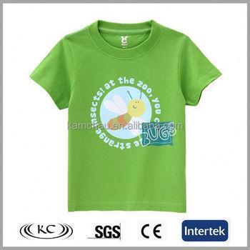 872700f2e2e3d5 2017 high quality peshrunk eco friendly wholesale bulk blank green full  printed wholesale organic cotton toddler