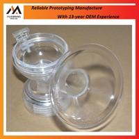 CNC Parts Transparent Clear Acrylic Plastic Rapid Prototype
